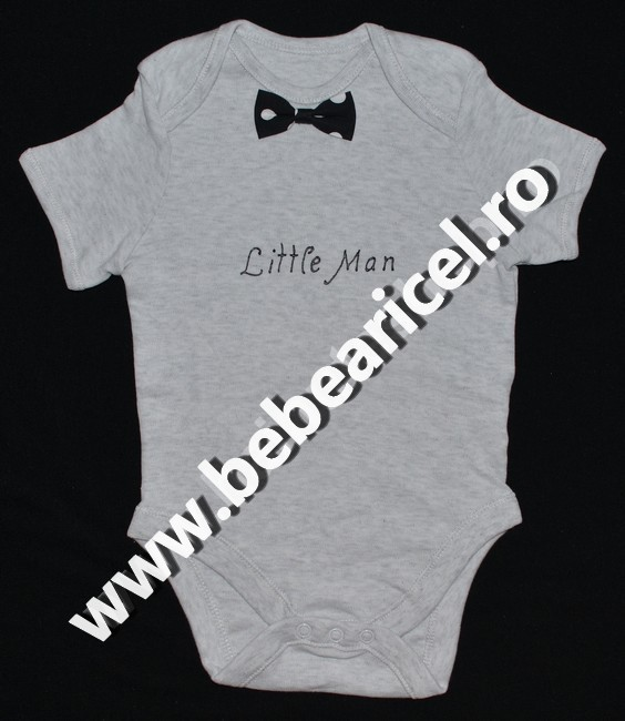 Body cu maneca scurta elegant LITTLE MAN