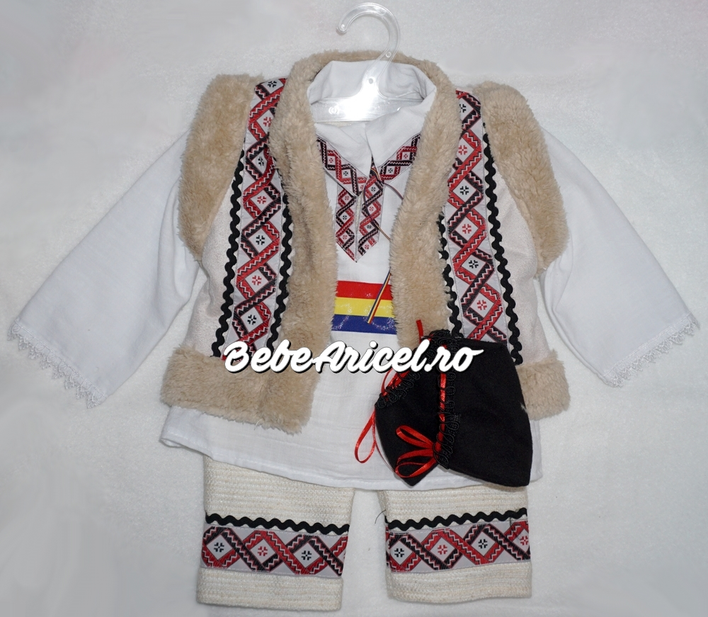 Costum popular, traditional pentru botez GEORGE