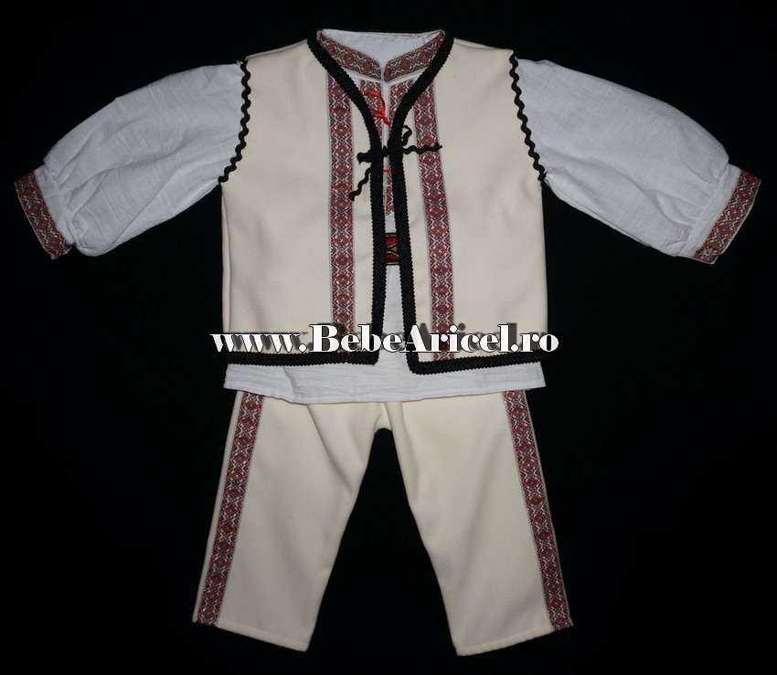 Costum Popular Traditional Pentru Botez Baieti